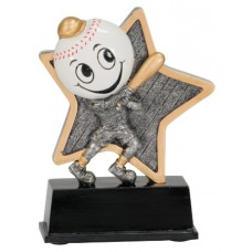 5 inch Baseball Little Pal Resin